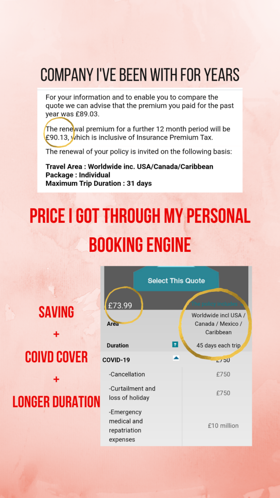 Book travel with an agent